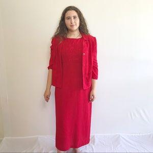 SAG HARBOR Dress & Sweater Set